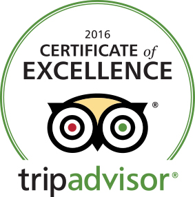 Sunshine Motor Inn awarded TripAdvisor Certificate of Excellence 2016